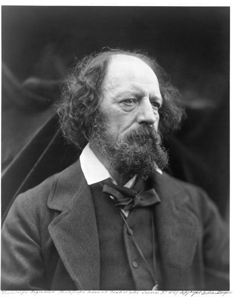 Alfred Tennyson by Julia Margaret Cameron, England, 1869. l Victoria and Albert Museum #Novembeard #Movember