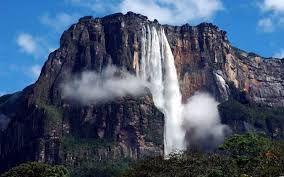 Картинки по запросу самый большой водопад анхель фото