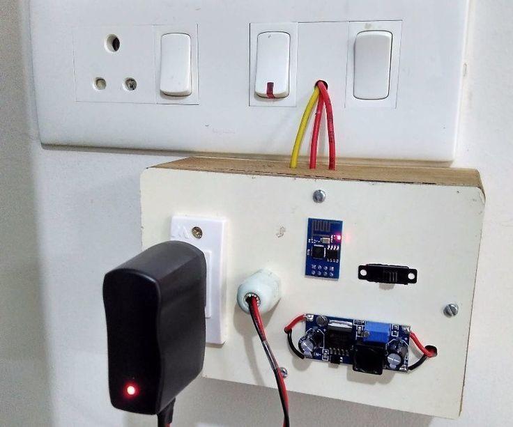 Esp8266 Wifi Timer Switch For Ac Loads Esp8266 Wifi