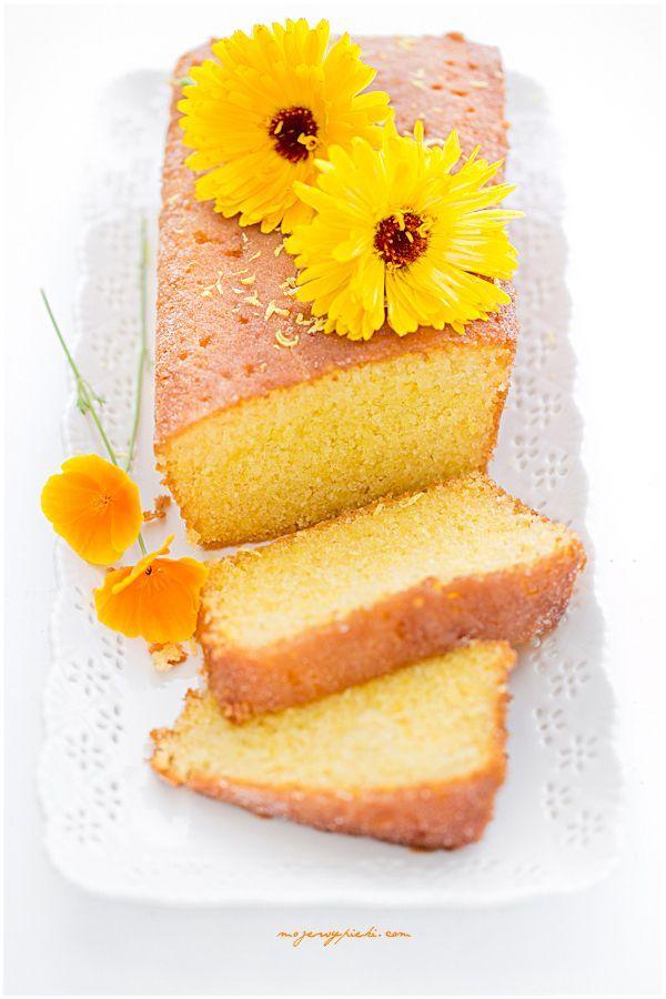 LEMON DRIZZLE CAKE angielskie ciasto cytrynowe