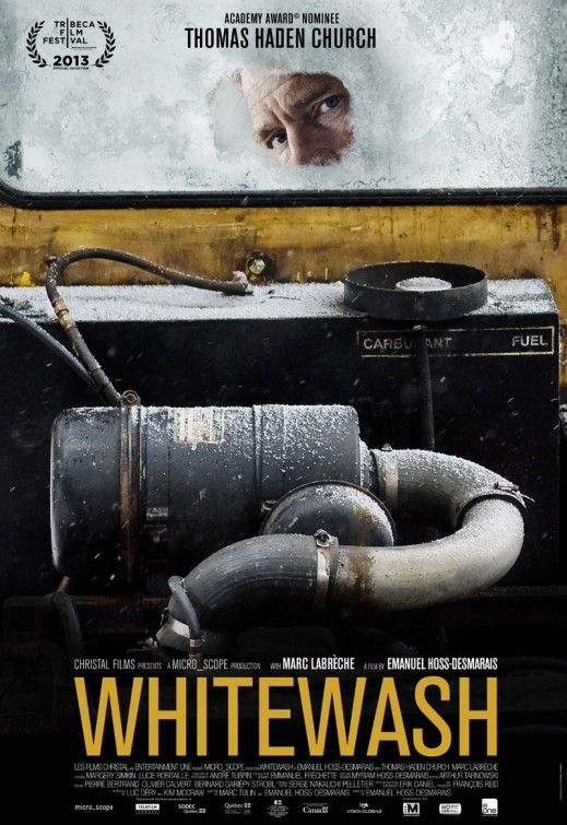 Tonight's Film: #WhiteWash On Netflix, drunken snow plow operator kills a pedestrian and then flees to the woods. B+ pic.twitter.com/RrQDt972vj