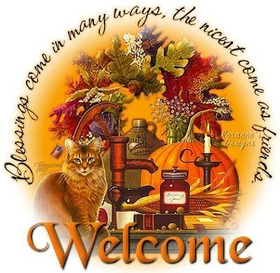 fall graphic welcome