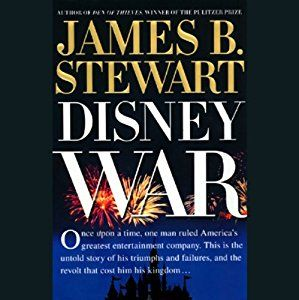 James B. Stewart - Disney War - Audiobook - The editing (or lack thereof) of this book is a mess, but the story about the power struggles within the Walt Disney Company (with Michael Eisner at the center) is intriguing.