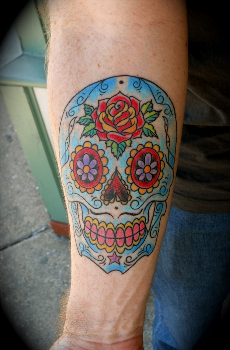 Route 66 tattoo picture at checkoutmyink com - Sugar Skull Tattoos By Nick Kelly Free Download Tattoo 28805 Sugar Skull Tattoos By