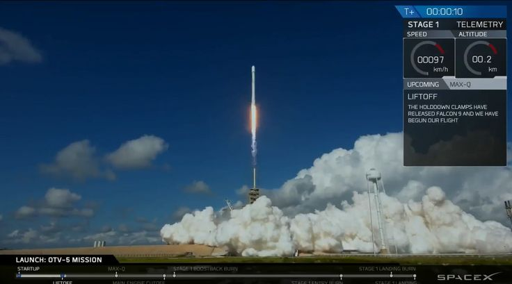 Today's launch was SpaceX's second U.S. national-security mission. The first came this past May, when a Falcon 9 lofted a classified spy satellite for the National Reconnaissance Office.