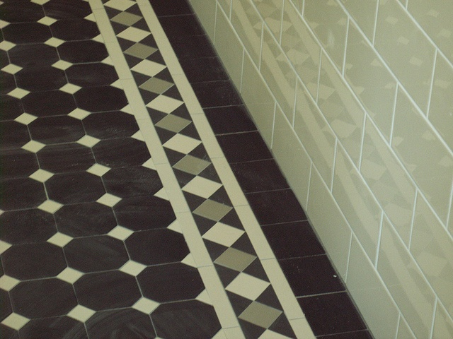 tessellated tile floor for the front verandah