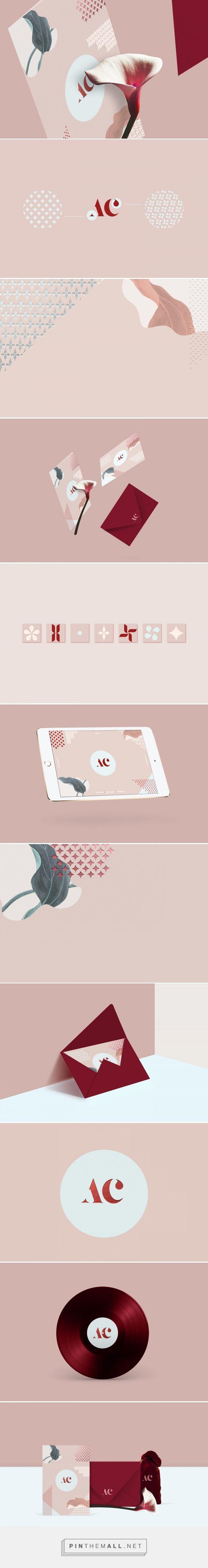 Identidade visual da marca AC, de Maria Hdez
