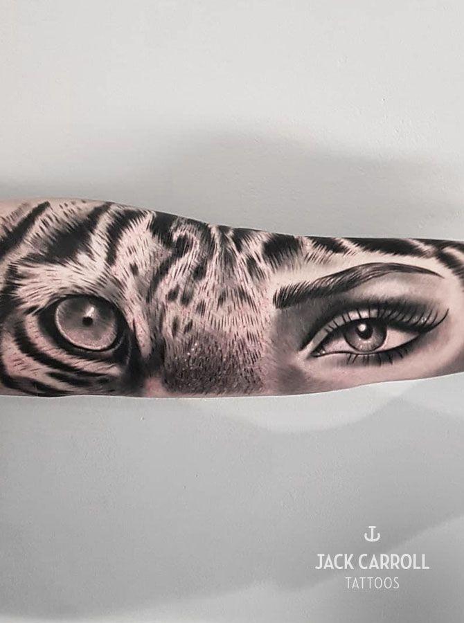 tattoo  tattoos   sleeve tattoo  eye tattoo  tigers eye   eye   realistic tattoo…