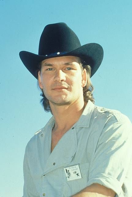 Patrick Swayze, male actor, cowboy hat, sexy guy, r.i.p. you will be forever missed, dancer, portrait, photo