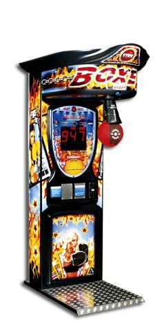 Boxer Fire amusement game for punching adventure