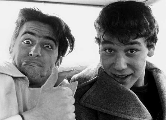 Bruce Campbell and Sam Raimi | Rare and beautiful celebrity photos