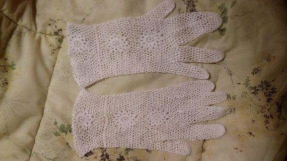 132 besten Vintage Gloves Bilder auf Pinterest   Handschuhe häkeln ...