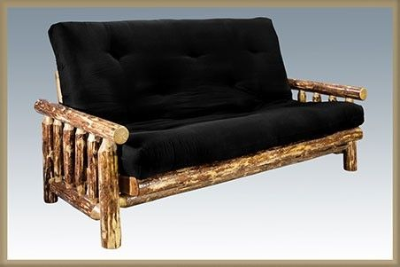 Rustic Futon w/ Mattress Made in the USA