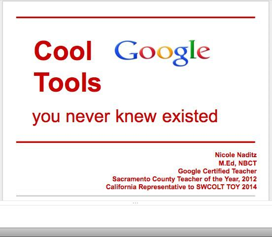Best 58 new technologies images on pinterest technology cool google tools you never knew existed nicole naditz actfl 2013 fandeluxe Choice Image