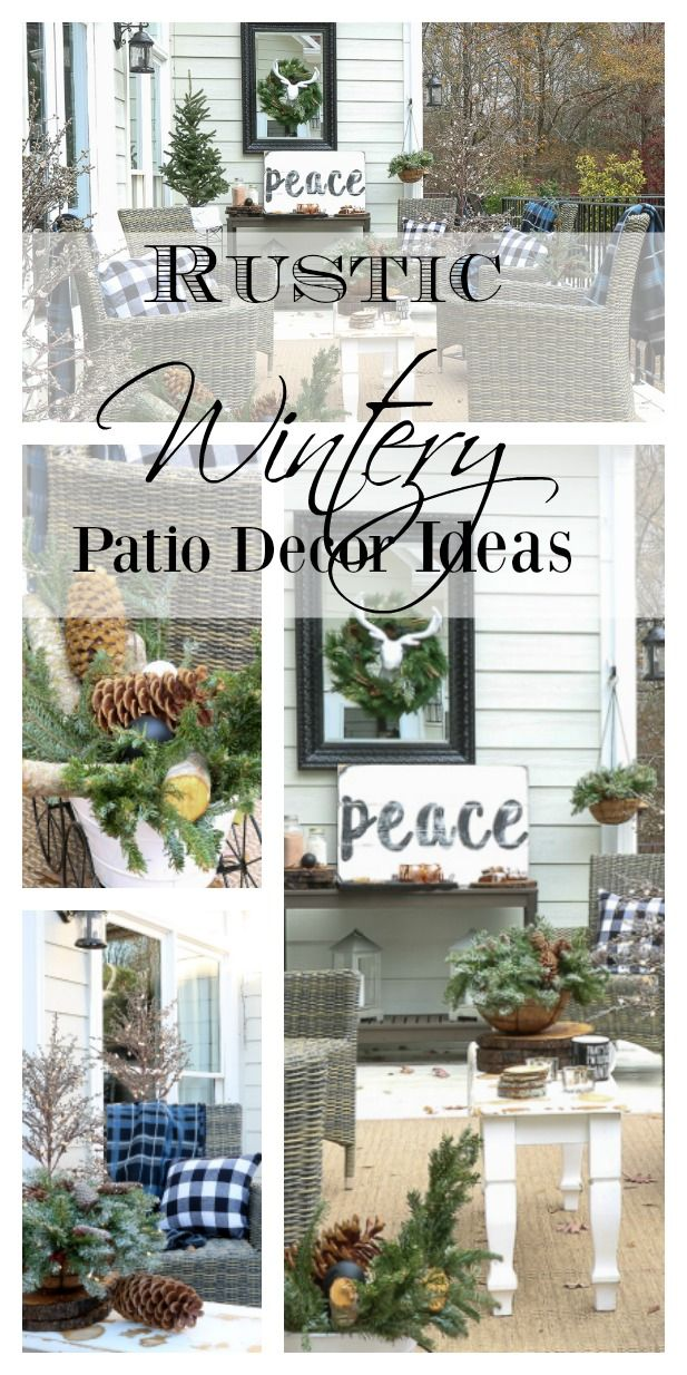 Holiday Decor Inspiration for your patio 160