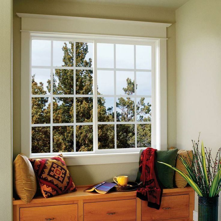 Jeld Wen Sierra Horizontal Sliding Vinyl Windows 72 In X