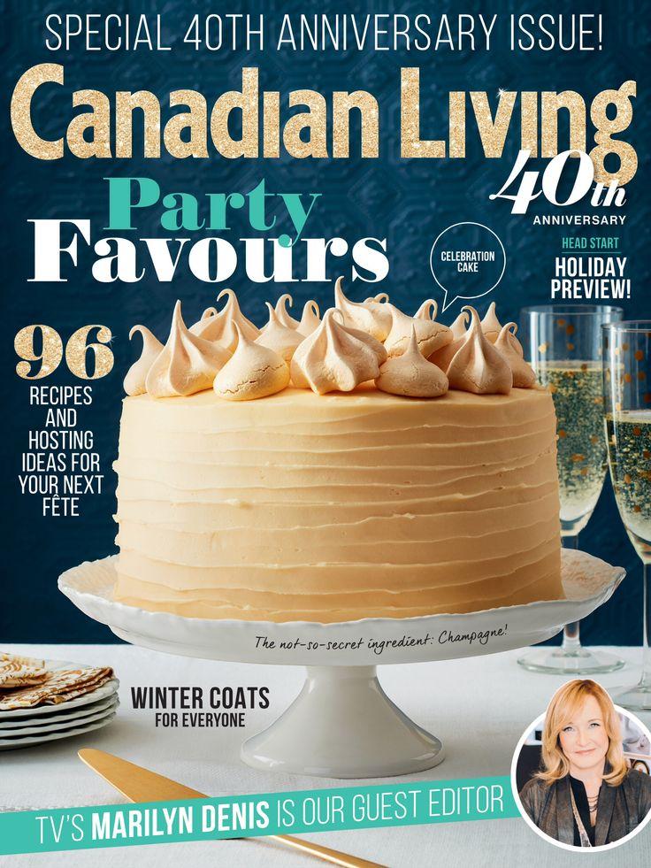 Canadian Living Nov 2015 Cover | ©Jodi Pudge 2015 | www.jodipudge.com