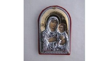 Μπομπονιέρες βάπτισης ασημένια εικόνα της Παναγίας με το θείο βρέφος Ιδανική μπομπονιέρα βάπτισης για κοριτσάκια και αγοράκια  Μπομπονιέρες βάπτισης οικονομικές τιμές