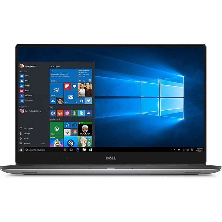"""Dell XPS 15-9550 15.6"""" Touchscreen LCD Notebook - Intel Core i7"""