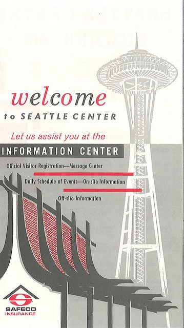 World's Fair information center pamphlet, 1962
