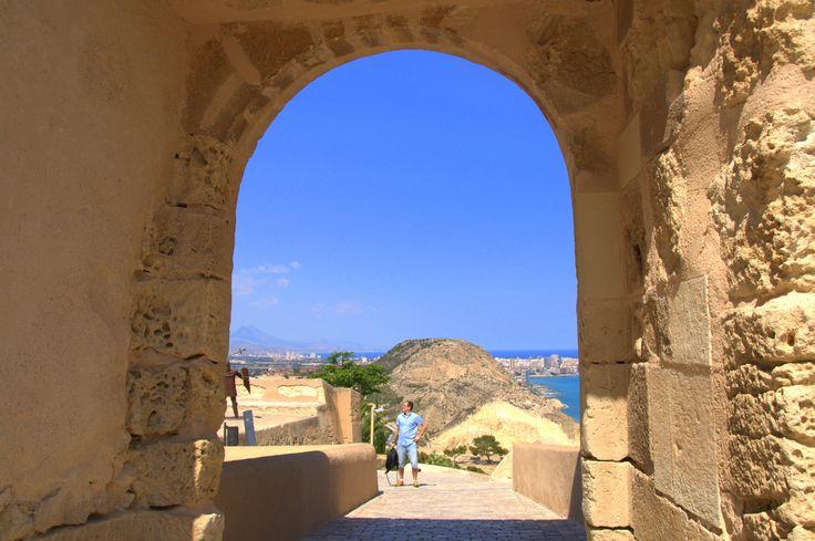 Alicante, Santa Barbara castle, Spain