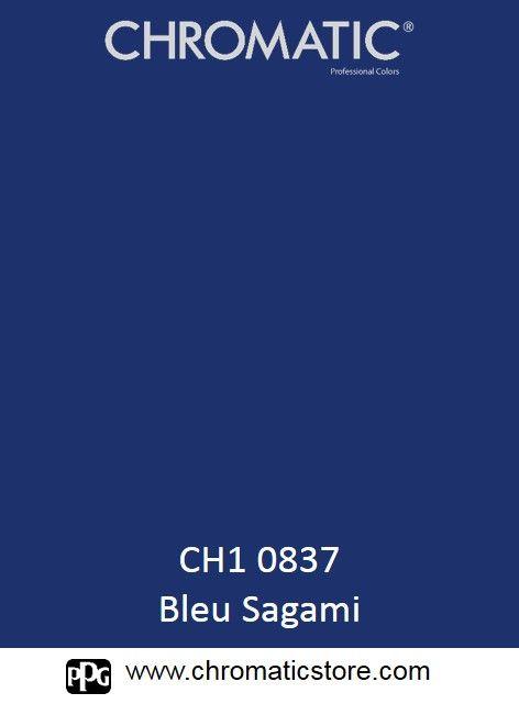Finalisez votre projet #peinture avec le #Bleu #Sagami en vous rendant dans l'un de nos points de vente partenaires. Trouvez votre distributeur sur www.chromaticstore.com