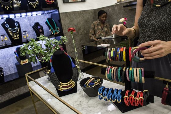 A high-fashion Johannesburg retail space is trying to woo South Africans by setting up in a mall