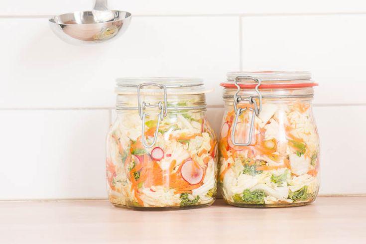 Koreanernas favorittillbehör, Kimchi, har på senare år erövrat världen. Med rätta!    Receptet finns på: smakbalans.se/recept    #mat #recept #kimchi #vego #vegetariskt #vegetarisk