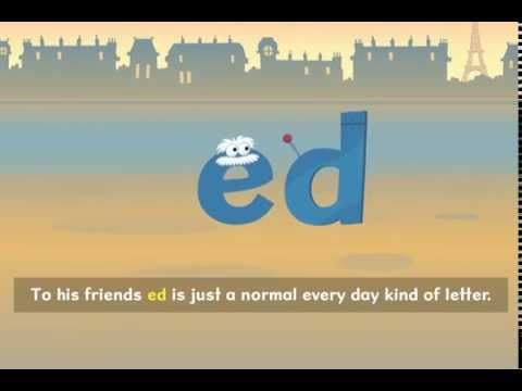 "Nessy Reading Strategy: 'ed' past tense I really like these ""Nessy Reading"" videos!"