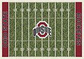 College Home Field NCAA Ohio State Novelty Rug