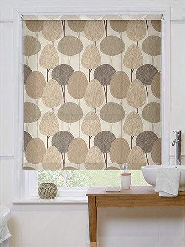 Nature Bathroom And Roller Blinds On Pinterest
