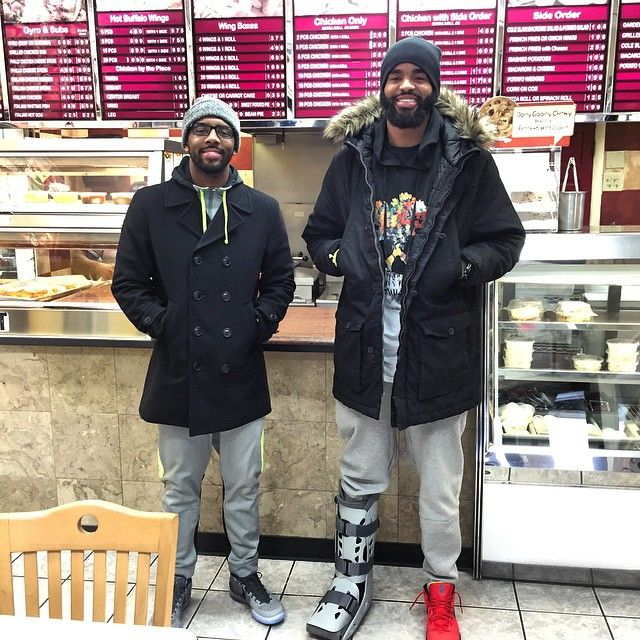 d464d595846e Discover ideas about Nba Fashion. Kyrie Irving wearing Nike ...
