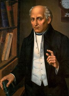 Don Miguel Gregorio Antonio Ignacio Hidalgo-Costilla y Gallaga Mandarte Villaseñor[3] (8 May 1753  – 30 July 1811), more commonly known as Don Miguel Hidalgo y Costilla or simply Miguel Hidalgo, was a Mexican Catholic priest and a leader of the Mexican War of Independence.