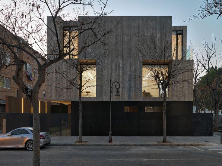 Imagen 4 de 21 de la galería de Casa Concreto / Ruben Muedra Estudio de Arquitectura. Fotografía de Javier Ortega
