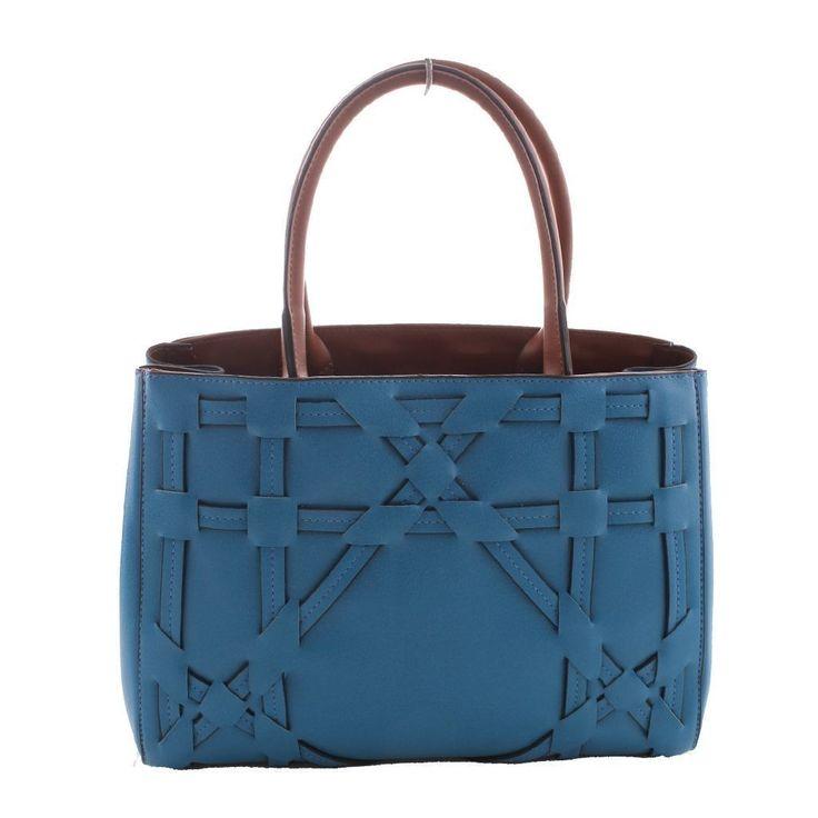 Santa Polo Kadın El Çantası 9663 Mavi |