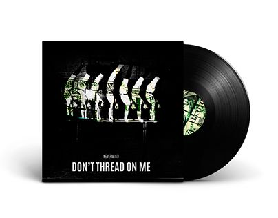 """Check out new work on my @Behance portfolio: """"Don't thread on me"""" http://be.net/gallery/43187249/Dont-thread-on-me"""