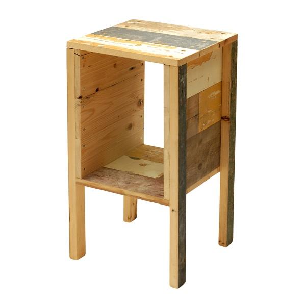 スクラップウッド サイドテーブル