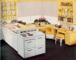 Colonel Mustard's Yellow Kitchen