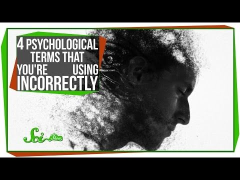 We sometimes get in the habit of using psychological terms to describe different people, but there's a good chance you're using these words incorrectly. This video explains what the terms psycho, OCD, schizo, and bipolar really mean, and why you may not want to use them to describe someone.