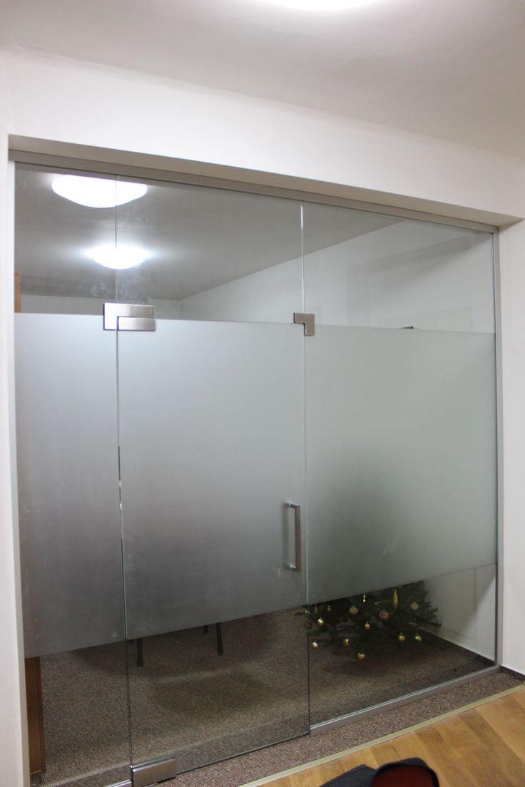 sklenená stena
