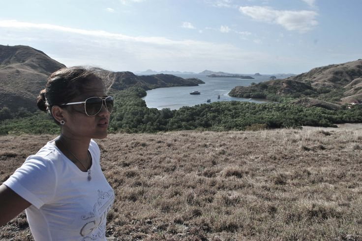 Landscape in Rinca