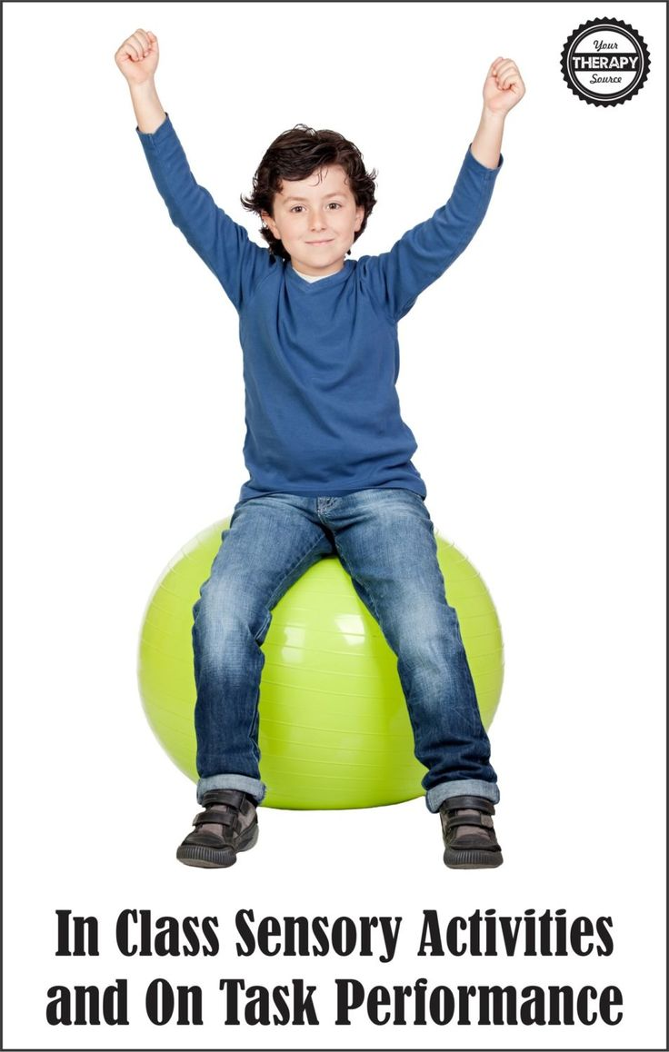 In Class Sensory Activities and On Task Performance - Your Therapy Source