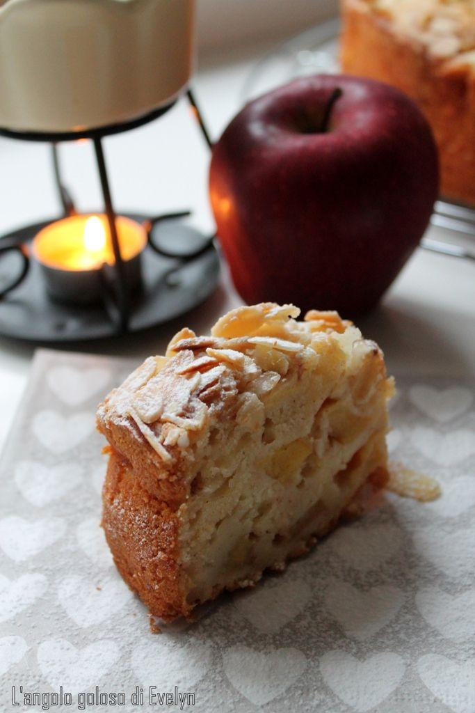 Buongiorno amici.. Eccomi con una nuova ricetta tutta autunnale. Per chi mi segue da un pochino sa che le torte alle mele sono le mie torte preferite...nel