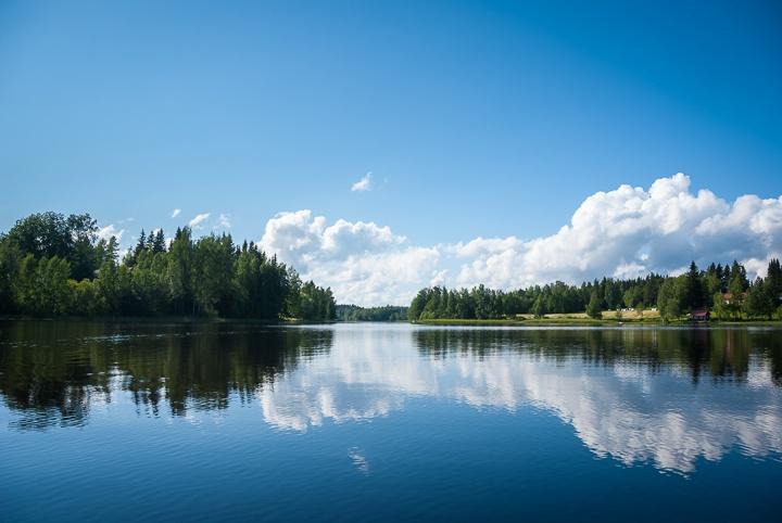 Finnish summer on a lake