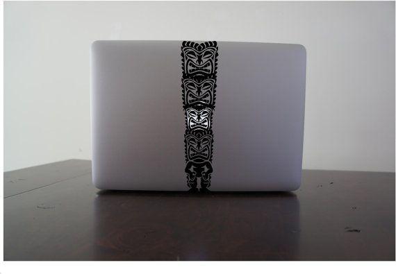 Hawaiian Totem   - Macbook Air, Macbook Pro,  Macbook decals, sticker Vinyl Mac decals Apple Mac Decal, Laptop, iPad https://www.etsy.com/uk/listing/108524714/hawaiian-totem-macbook-air-macbook-pro?ref=shop_home_active_6