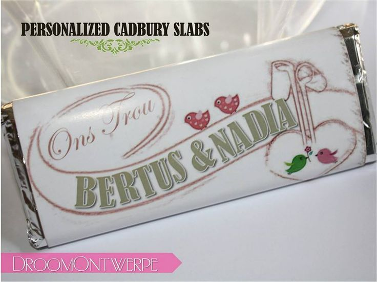 Personalised Slab Save the Dates