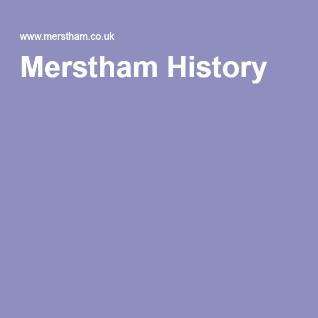 Merstham History