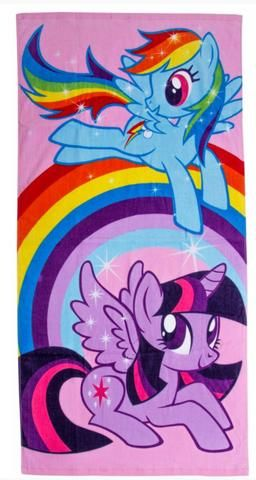 MY LITTLE PONY ~ 'Party' Towel