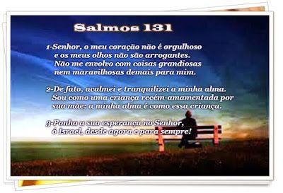 Palavra e Ação : SALMO 131 - Comentários Pr Heber Toth Armí