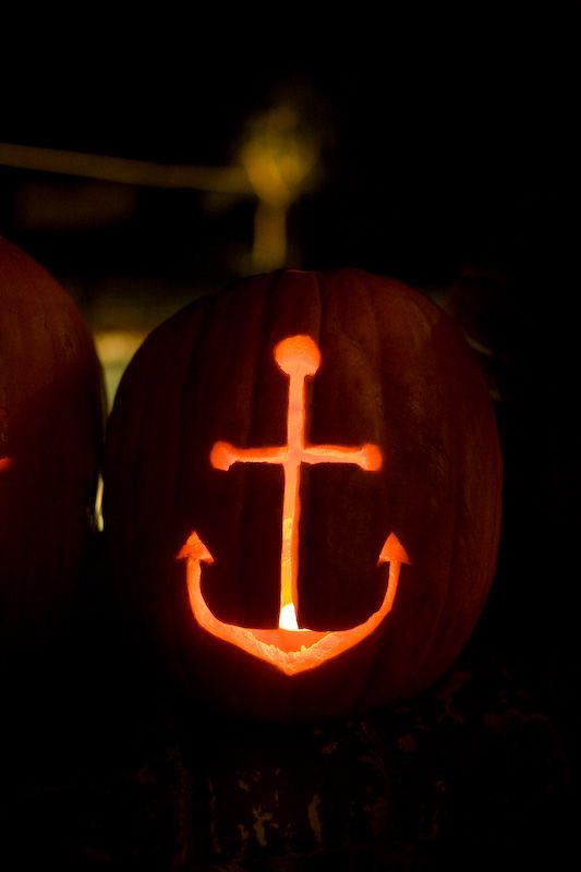 anchor pumpkin.. this is happening!
